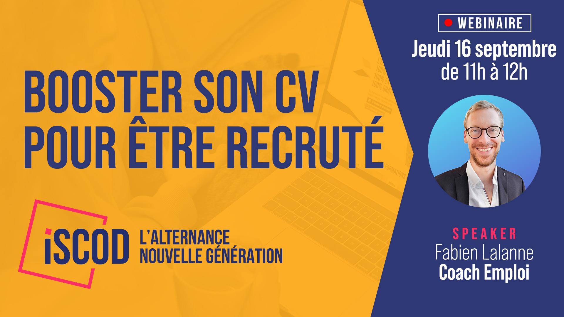 Booster son CV pour être recruté(e) !